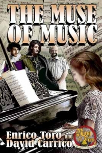 Cover art for the The Muse of Music by Enrico Toro and David Carrico.