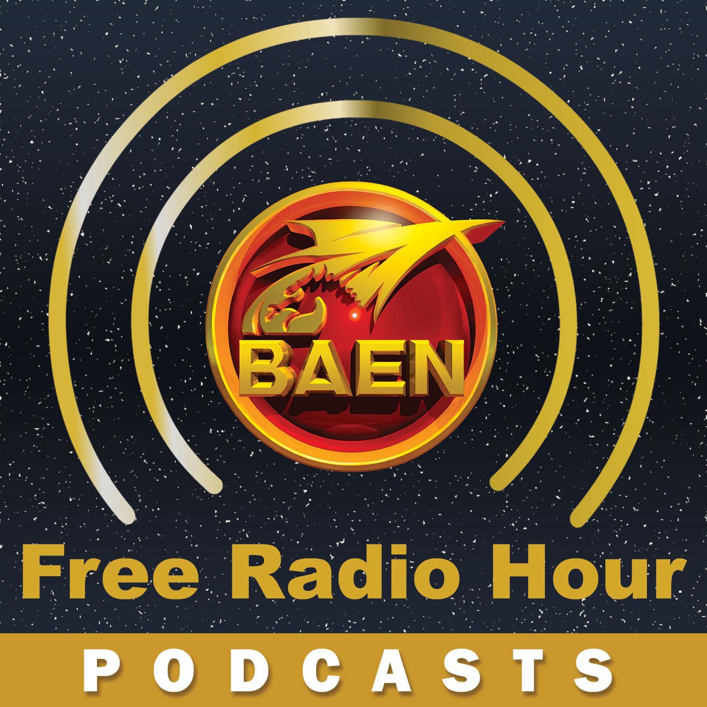 Logo for Baen Free Radio Hour Podcast.