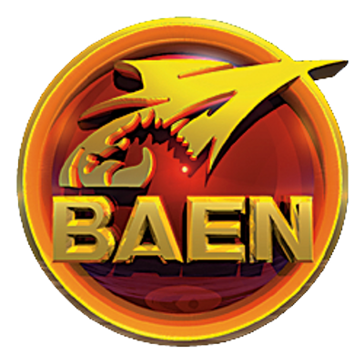 Logo image for Baen Books.