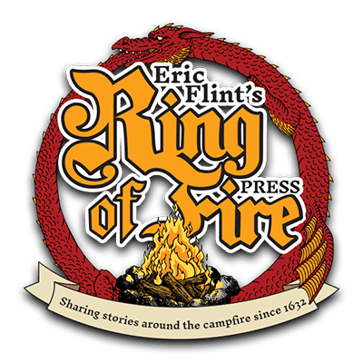 Logo image for Eric Flint's Ring of Fire Press.